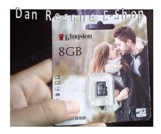 Cartão De Memória 8 Gb Classe 4 Kingston