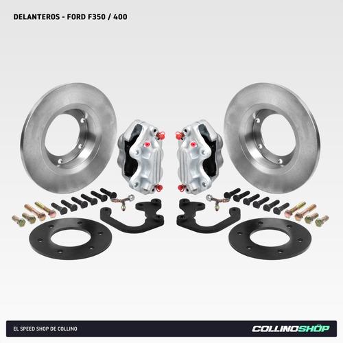 Kit Frenos A Disco Delantero Ford F350 400 Del 66-94