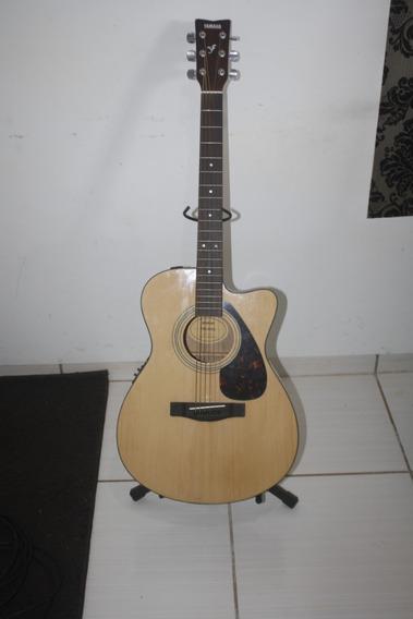 Violão Yamaha Fsx 315c Natural - Indonésia - Unico No Brasil