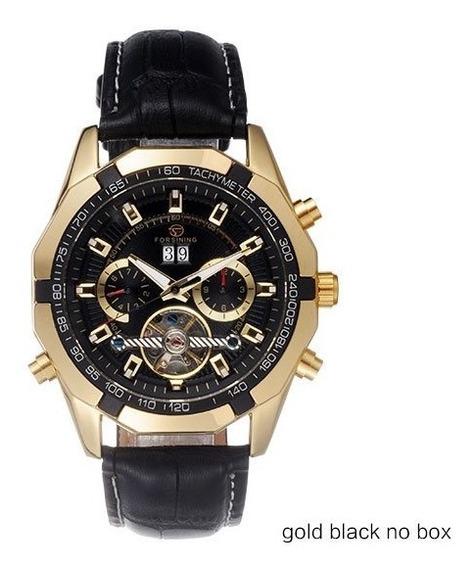 Relógio Forsining Automático Luxo Turbilhão