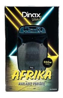 Parlante Portátil Dinax Africa, Bluetooth Karaoke Y Mas