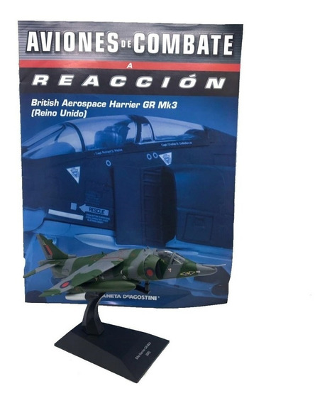 Coleccion De Aviones De Combate A Reccion # 10 Harrier Reino