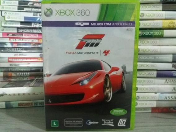 Jogo De Carro Forza Motorsport 4 Xbox 360 Original Mídia