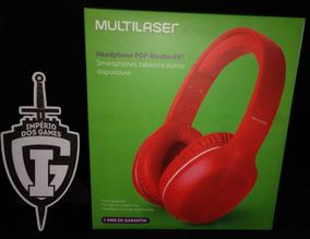 Fone Bluetooth E Cabo P2 Pop Multilaser - Ph247 & Ph248