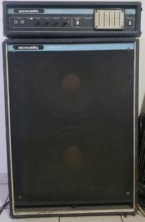 Cabezal Y Caja Acoustic Model 220 Y 402