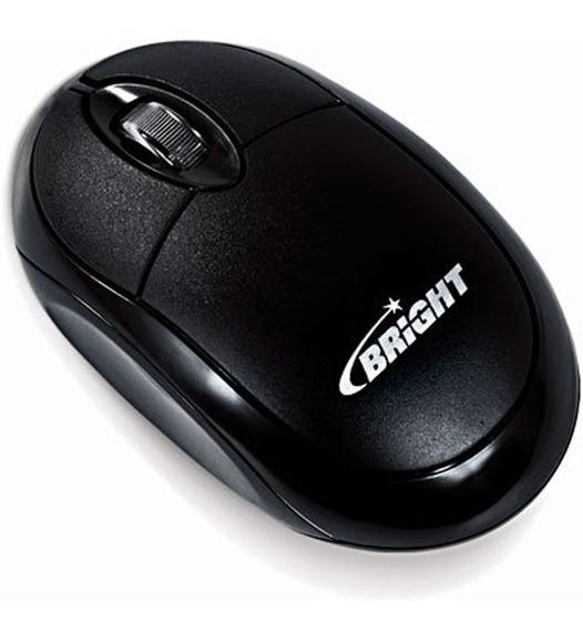 Mouse Bright Usb Espanha Preto