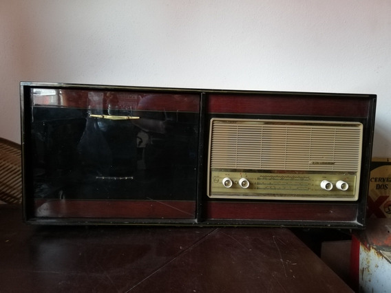 Radio Tocadisco Tornamesa Phillips Antiguo