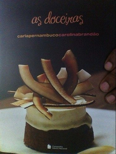 Livro Doceiras, As Carla Pernambuco