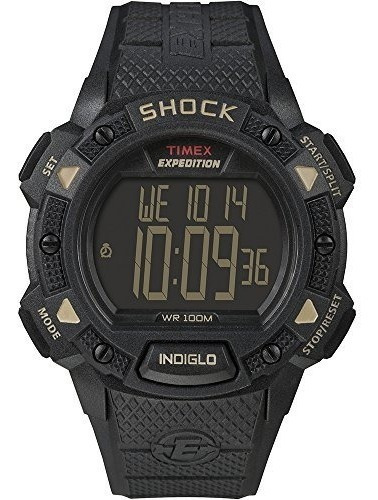Timex Expedition Shock Cat Resistente A Golpes, Durable 100m