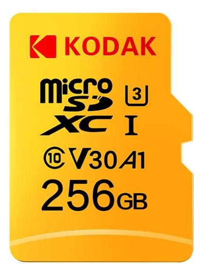 Tarjeta De Memoria Kodak Micro Sd 256gb 100mb/s