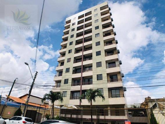 Apartamento 2 Quartos, 2 Vagas, Nascente, Próximo A Av. Pontes Vieira. - Ap0704