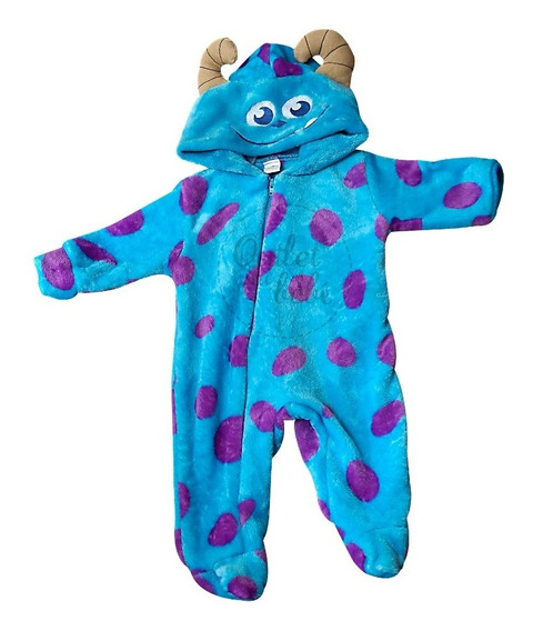 Mameluco Disney Sulley Monsters Inc Original Outlet Mi Bebe