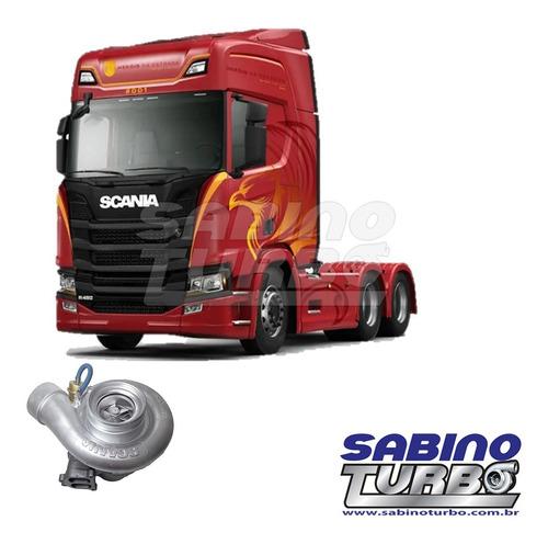 Turbina Scania 164 R500 V8