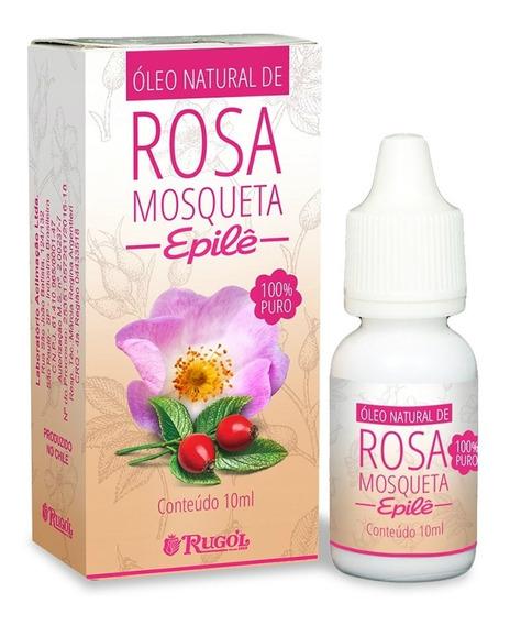 Rugol Epilê Óleo Natural De Rosa Mosqueta 10ml