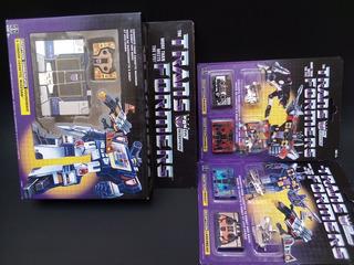 Transformers Lote G1 Soundwave Ravage Laserbeak Reedicion