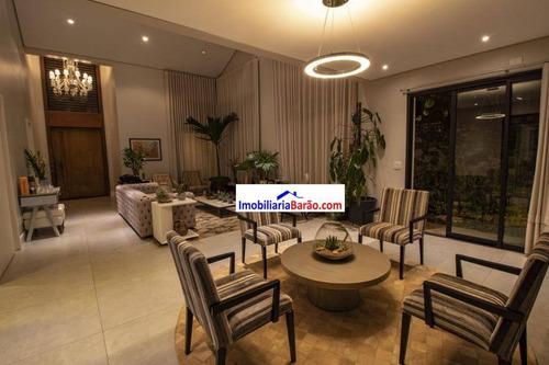 Casa Com 4 Dormitórios À Venda, 320 M² Por R$ 2.895.000,00 - Residencial Estância Eudóxia - Campinas/sp - Ca1495