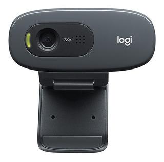 Cámara Web Logitech Webcam Hd C270 C/ Micrófono 720p Cuotas