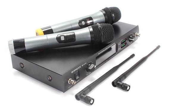 Microfones sem fios Briwax BP-6154 cardióide