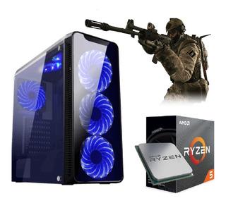 Pc Ryzen5 3400g Vega11 Granphis+ssd 120gb+2 8gb Ram+500w