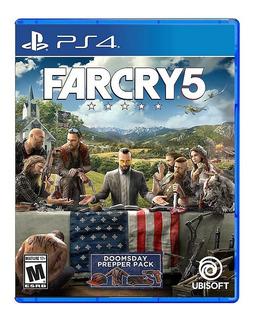 Far Cry 5 Ps4 Nuevo Fisico Sellado Envio Gratis
