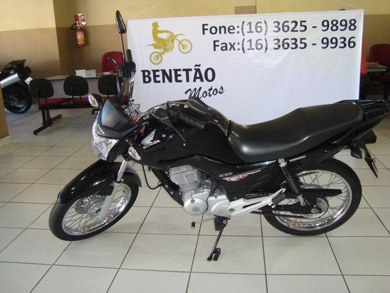 Honda Cg 150 Fan Esdi Preto 2015