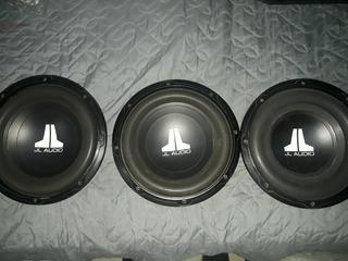 3 Bajos Jl Audio 10w0v2