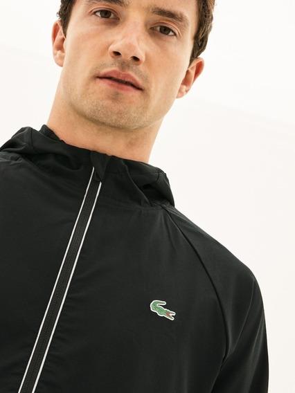 Jaqueta Masculina Corta Vento Lacoste -edição Novak Djokovic