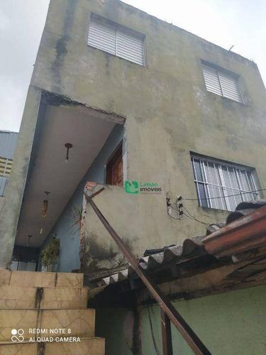 Imagem 1 de 30 de Casa Com 5 Dormitórios À Venda, 190 M² Por R$ 550.000,00 - Casa Verde (zona Norte) - São Paulo/sp - Ca0610