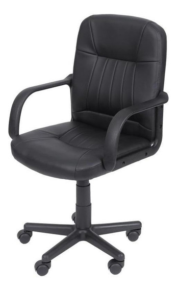 Cadeira De Escritório Office Compass Preto Or Design