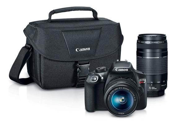 Canon Eos Rebel T6 Premium Kit 18 - 55 / 75 - 300.