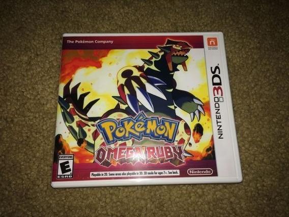 Pokémon Omega Ruby 3ds Usado