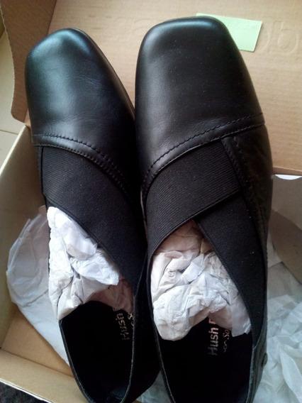 Zapatos Hush Puppies Cuero Negro