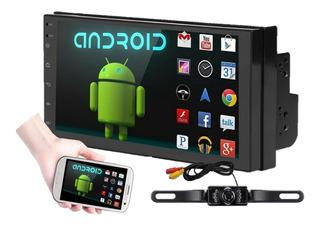 Autoestereo Android 8.1 Wifi Gps + Cámara Portaplaca Nocturna