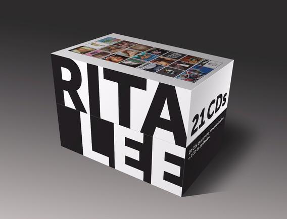 Rita Lee - Box 21 Cds. (lacrado & Frete Grátis)