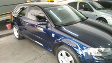 Audi A3 2.0 2007 3 Puertas Azul Primera Mano Dueño Vende Tit