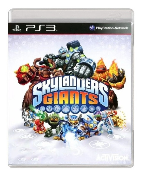 Skylanders Giants - Ps3 - Usado - Original - Midia Física