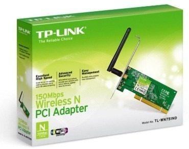 Adaptador Pci Tp-link Tl-wn 751nd 150mbps