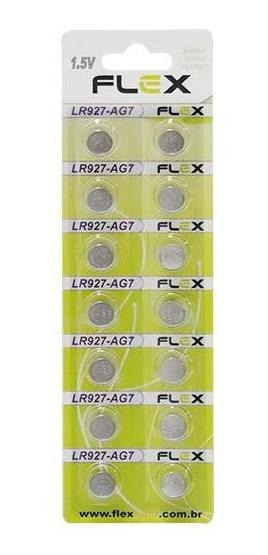 Bateria 399 395 Fx 927 Lr927 Ag7 Lr57 1.5v Cartela C/14 Unid
