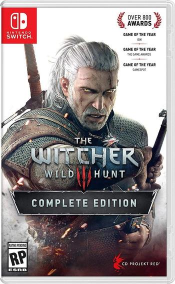 The Witcher 3 : Wild Hunt Nintendo Switch !!!