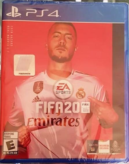 Fifa 20 Xbox Ps4 Fisico+envio Gratis