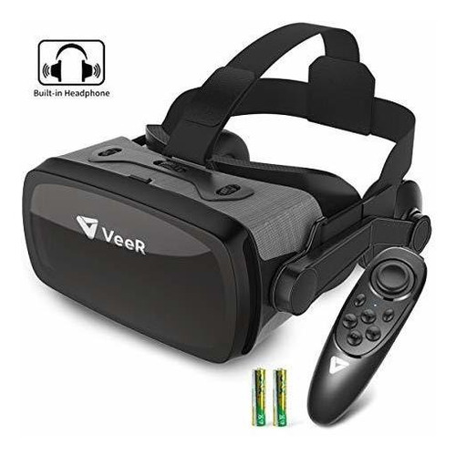 Veer Falcon Vr Auricular Con Controlador, Gafas De Realidad
