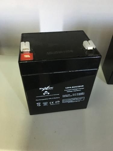 Batería Agm 12v 4 Ah Nuevas Garantía Real 1 Año.