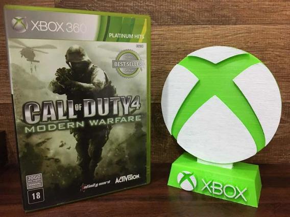 Call Of Duty 4 Modern Warfare Xbox 360 Mídia Física