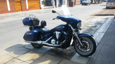 Moto Yamaha V Star 1300 Ctd Deluxe 2013