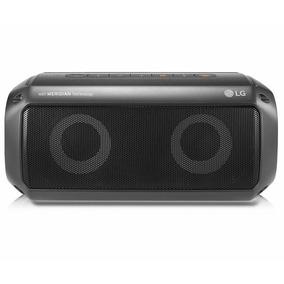 Caixa De Som Bluetooth Xboom Go Pk3 Preta Lg ? Prova D??gua