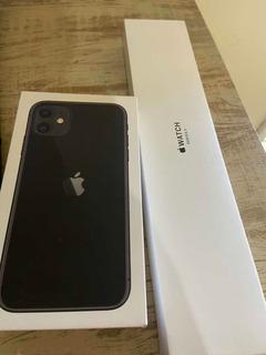 Celular iPhone 11 64gb + Apple What S3 38mm