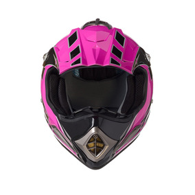 Capacete Texx Speed Mud Rosa Metalico L-60