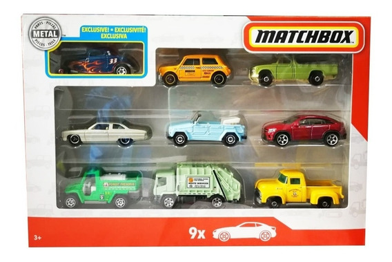 Matchbox Colección X9 Exclusivo 1933 Ford Coupe Mattel Gbj52