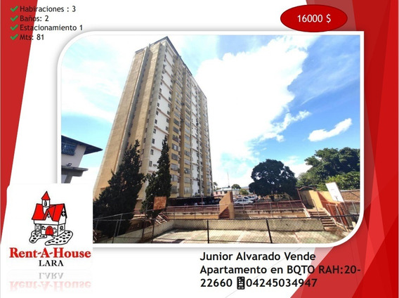 Junior Alvarado Vende Apartamento En Bqto Rah:20-22660 ¿04245034947