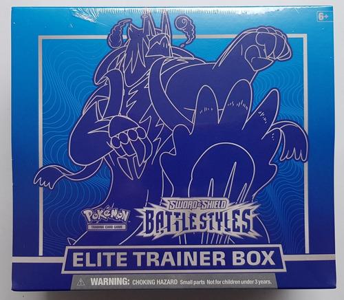 Pokemon Tcg Battle Styles Elite Trainer Box Azul Nueva !!!